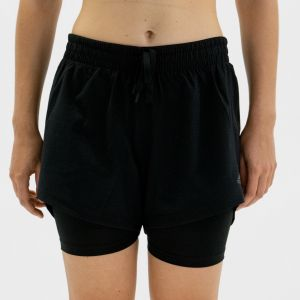 Adidas Short femme two in one xl