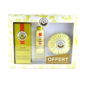 Roger & Gallet Coffret Fleur d'Osmanthus - Crème mains + Savon offert