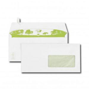 Gpv 3822 - Enveloppe Green Erapure 110x220, 90 g/m², coloris blanc - boîte de 500