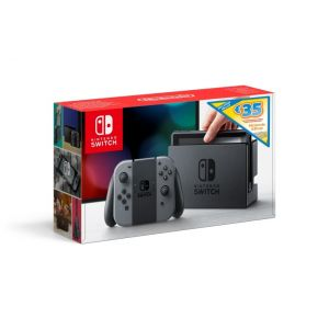 Nintendo Console Switch Grise + Eshop card 35€