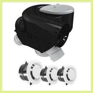 Atlantic Autocozy kit VMC simple flux Autoréglable