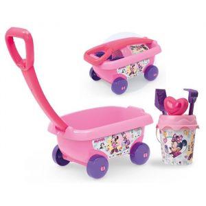 Smoby Chariot de plage garni Disney Minnie