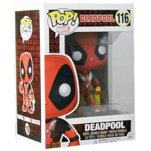 Funko Figurine Pop! Deadpool : Rubber Chicken