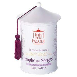 Thés de la pagode Empire des Songes par   Edition Prestige – Boite de 50 grammes   Contribue à retrouver le sommeil
