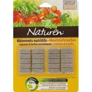 Naturen Engrais légumes et herbes aromatiques - Bâtonnets