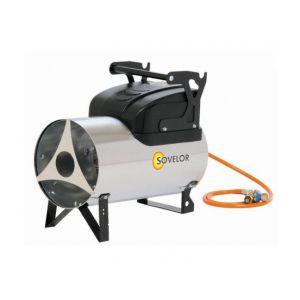 Sovelor Chauffage air pulsé portable inox au gaz propane Puissance élec. 90W MG310