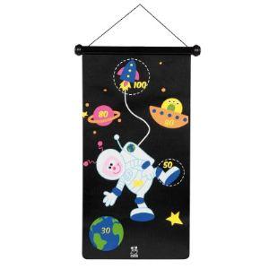 Scratch Jeu de fléchettes magnétique Astronaute et fusée