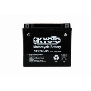 Kyoto Batterie 12V YT20L-BS