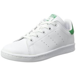 Adidas Baskets basses enfant STAN SMITH C blanc - Taille 28,29,30,31,32,33,34,35,33 1/2,31 1/2,30 1/2,28 1/2