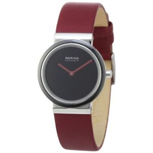 Bering Time 10729 - Montre pour femme avec bracelet en cuir