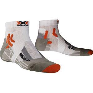 X-Socks X020385 Marathon Chaussettes Homme Multicolore (white/gray/orange) 39-41