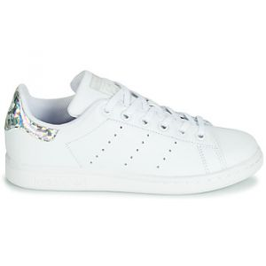 Adidas Chaussures enfant STAN SMITH J blanc - Taille 36,38,36 2/3,37 1/3,38 2/3,35 1/2