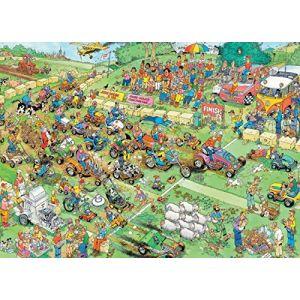 Jumbo Course de tondeuses - Puzzle Jan Van Haasteren 1000 pièces
