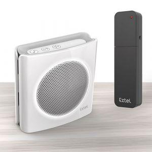 Extel Extension de sonnerie universelle sans fil pour transporter une sonnerie diBi More