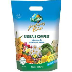 Cp jardin Engrais complet naturel enrichi en magnésium 25 kg