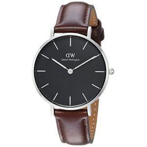 Daniel Wellington DW00100177 - Montre pour femme avec bracelet en cuir