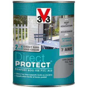 V33 Direct Protect Satin Gris Galet 1 5l Peinture Exterieure Multi