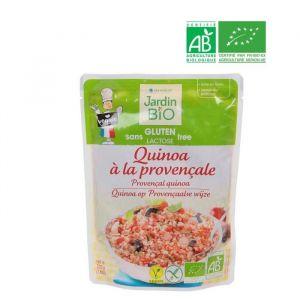 Jardin Bio Quinoa à la provencale bio* sans gluten - Le sachet de 220g