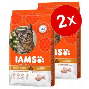 IAMS Croquettes au poulet pour chat senior - 10kg