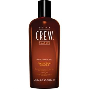 American Crew Classic Gray - Shampooing spécial cheveux gris