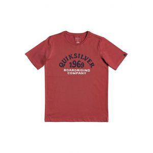 Quiksilver Kirra Shakka - T-Shirt - Garçon Enfant 8-16 Ans - Rouge