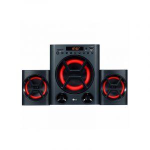 LG Mini Hifi LK72B 40W Bluetooth Noir Rouge