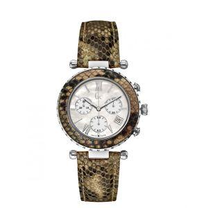 Guess X43003M1S - Montre pour femme avec bracelet en cuir