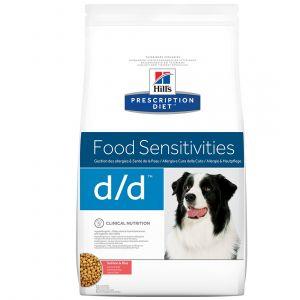 Hill's Prescription Diet d/d - Sac 5 kg, Saveur : Salmon & Rice
