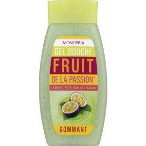 Monoprix Gel douche Fruit de la passion - Gommant