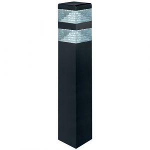 Lumihome Borne pyramide 60 led 60cm noir mat,