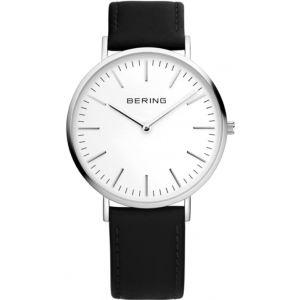 Bering Time 13738 - Montre pour homme avec bracelet en cuir
