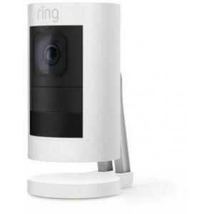 Ring Caméra de sécurité Stick Up Cam Battery Blanc