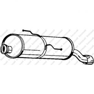 Bosal Silencieux arrière 190-503