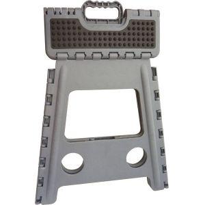 Hippo-Tonic Unisexe 930251011 Grip Marchepied pliant, gris, 28.5 x 21.5 x 39 cm