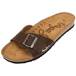 Pepe Jeans Tongs Bio Marron 42