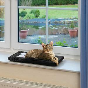 Image de Karlie Coussin rebord de fenêtre pour chat (61 x 26 x 3 cm)