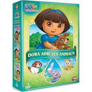 Coffret Dora l'exploratrice : Dora aime les animaux