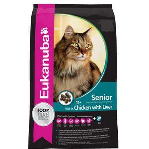 Eukanuba Mature Care - Croquettes pour chat senior (plus de 7 ans)