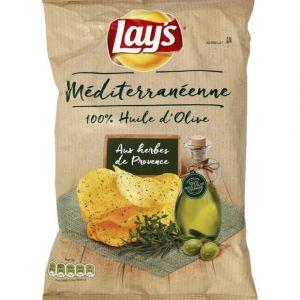 Lay's Chips recette méditerranéenne - Le paquet de 120g