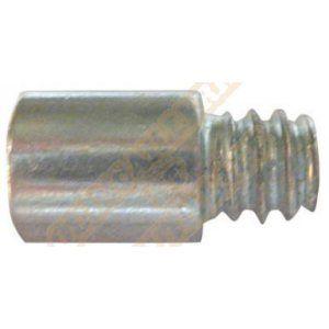 Plombelec Rallonge pas 7x150 acier bichromaté longueur 20mm - 50 pièces
