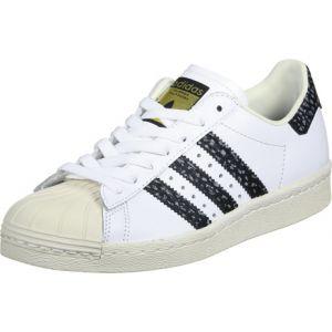 Adidas Superstar 80s chaussures blanc noir vert 38 2/3 EU