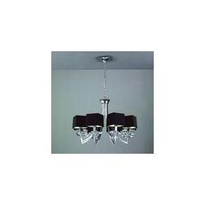 Mantra Suspension Akira 8 ampoules en chrome