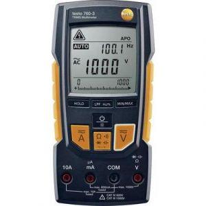 Testo 760-3 Multimètre avec étalonnage: d'usine