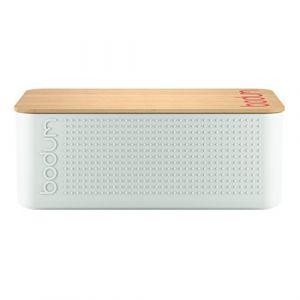 Bodum 11740-913 - Bistro - Boîte à Pain Petit Modèle - Blanc