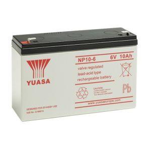 Yuasa Batterie plomb étanche NP10-6 6V 10ah