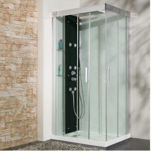 Kinedo Kineform 100 - Cabine de douche hydromassante et Hammam (100 x 80 cm)