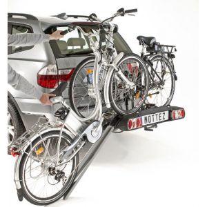 Mottez Porte-vélos d'attelage Zeus-V2 A028P2 pour 2 vélos électriques