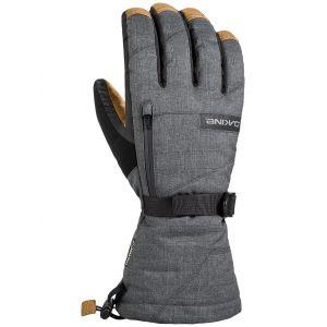 Dakine Gants Gants De Ski Leather Titan Gore-tex Carbon Gris - Taille EU S