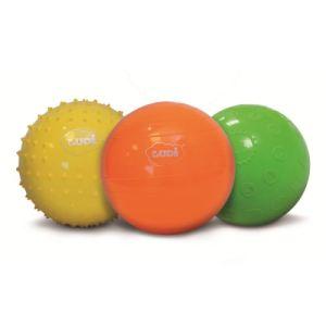 Ludi 2789 - 3 balles sensorielles