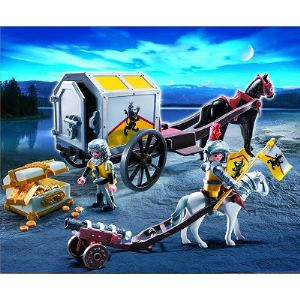 Playmobil 4874 - Transport d'or des chevaliers